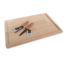 Set houten kaasplank + 2...